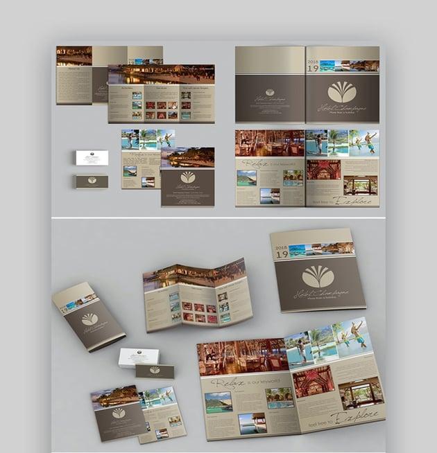 Creative A3 A4 Brochure Template