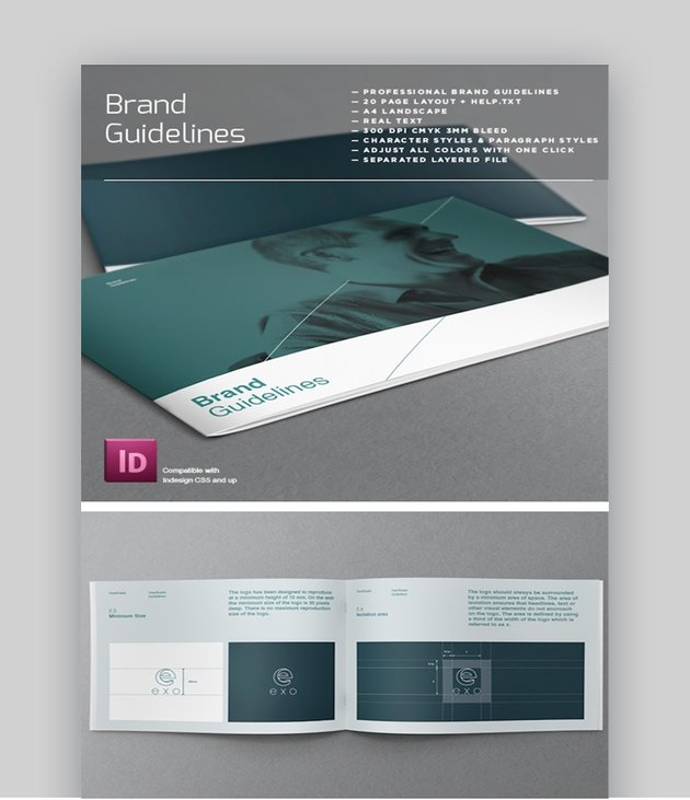 Brand Logo Guidelines Template