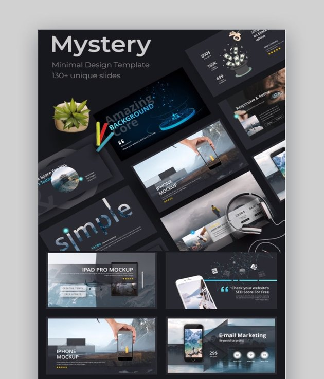 Mystery Creative Change Management Models PPT PowerPoint Template