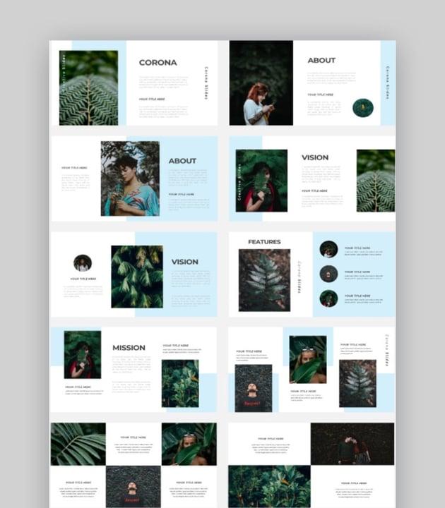 Corona - Creative Photography PPT