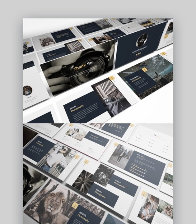 Dazzle Photography PowerPoint Template