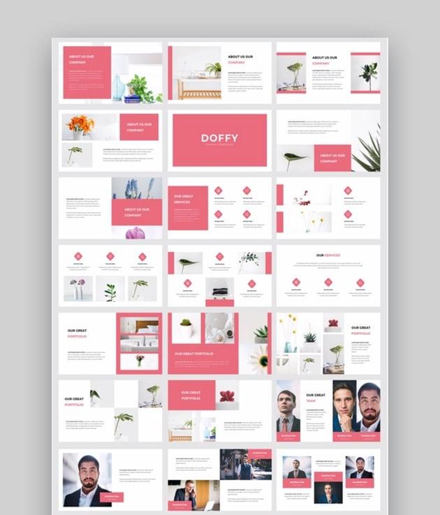 Doffy - Creative Photography PowerPoint Template