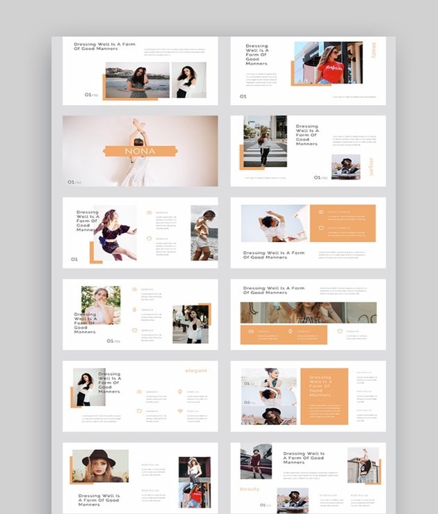 Nona - Fashion Photography Slideshow