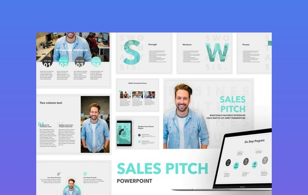 Sales Pitch PowerPoint Template