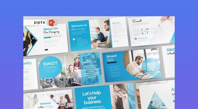 SWOT Analysis- multipurpose PowerPoint