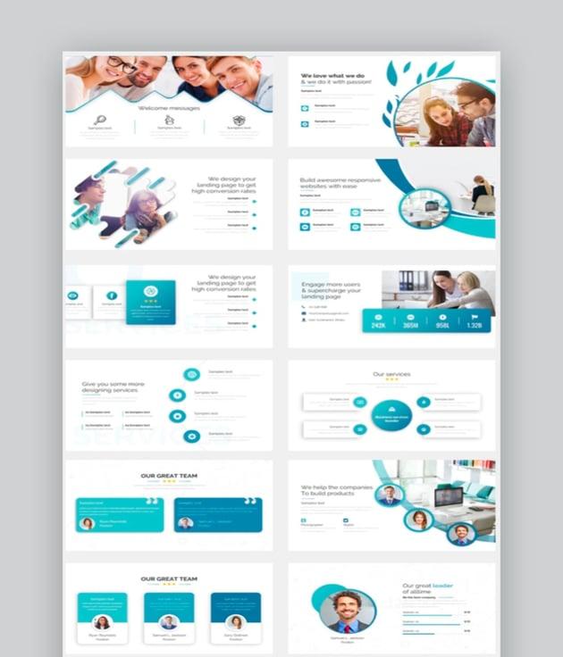 Innovation Agendas Pitch Deck PowerPoint Template