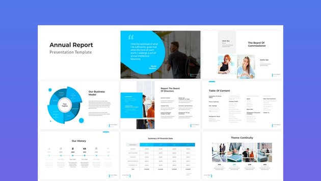 Annual Report - PowerPoint