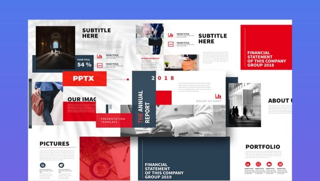 Report PowerPoint Template