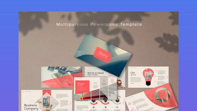 Story PowerPoint Template