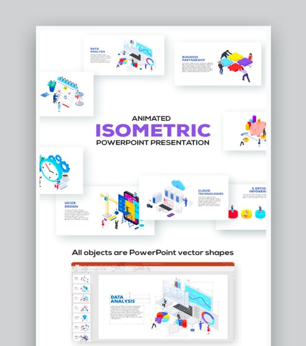 Isometric PowerPoint Presentations