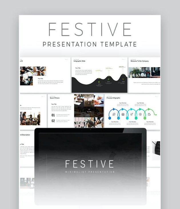 Festive PowerPoint Template
