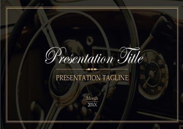 Vintage Presentation