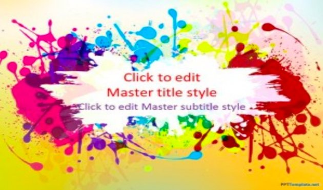 Color - Pretty PowerPoint Template for Free
