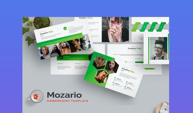Mazario PowerPoint Tmeplate
