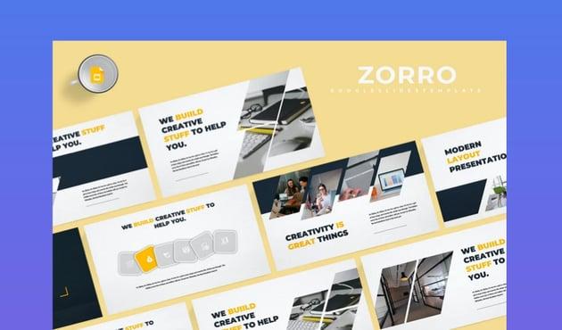 Zorro Google Slides Template