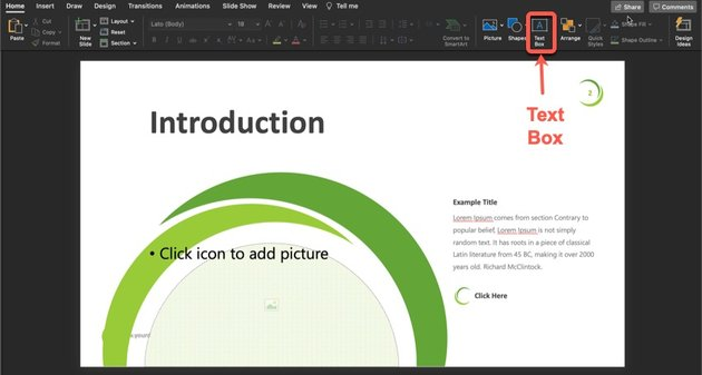 Plant PowerPoint Template Tutorial Step 4