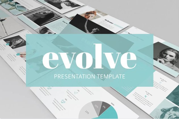 Evolve Charity PowerPoint