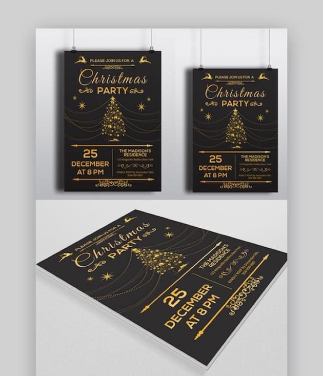Christmas Invitation Flyer