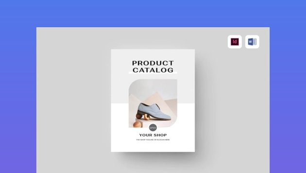 Microsoft Word Product Catalog Template