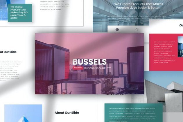 Bussels Google Slides Template is from Envato Elements.
