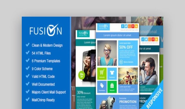 Fusion Metro Email Newsletter Template