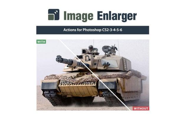 Image Enlarger Action