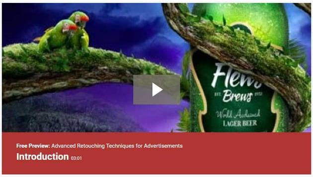 Advanced Retouching Techniques for Advertisements