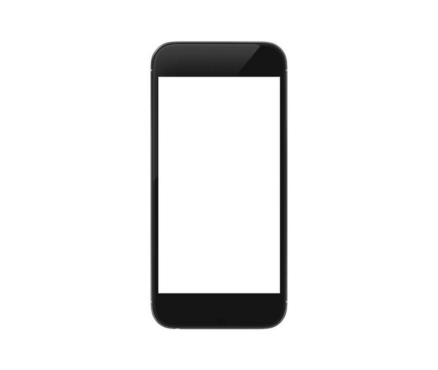 Isolated Smartphone
