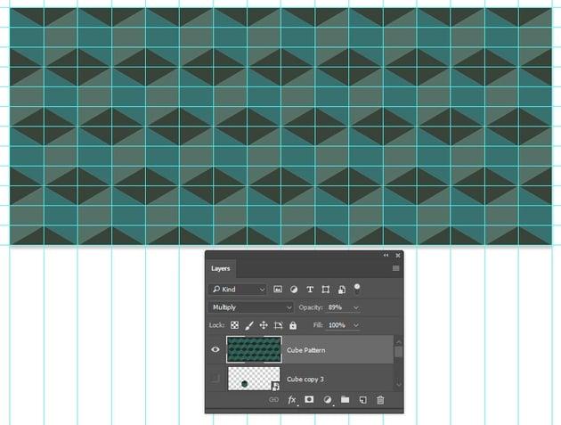 Adjust blending mode and opacity