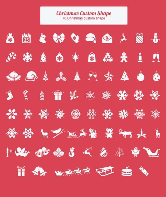 Christmas Custom Shape