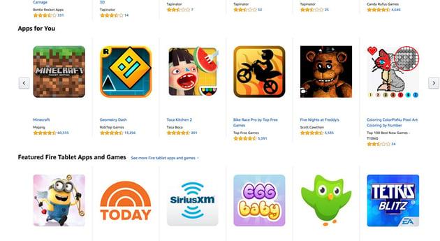 The Amazon App Store