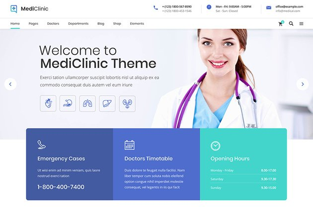 MediClinic - Medical Healthcare Theme