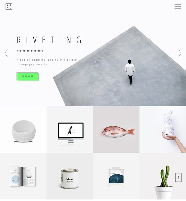 Koto - Design  Artist Portfolio Theme