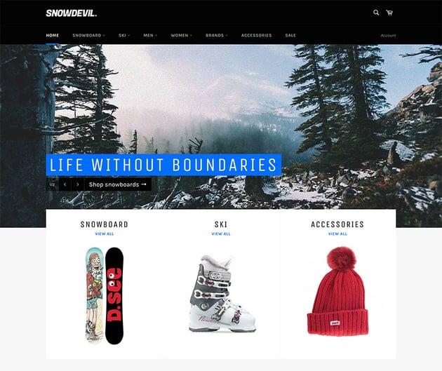Venture Free Shopify Theme
