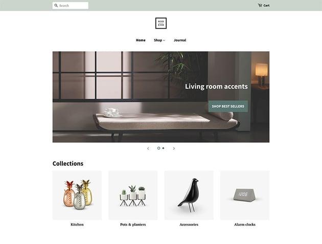 Minimal Grocery Shopify Theme Template Free