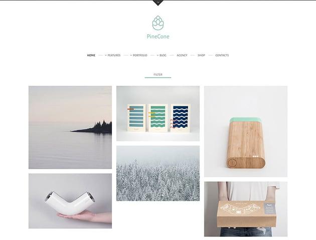 PineCone - Creative Portfolio and Blog for Agency