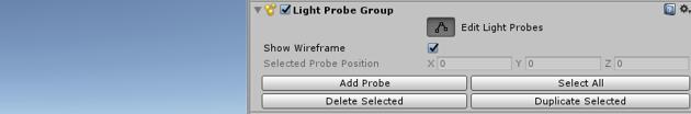 Light Probes - Light Probe Group