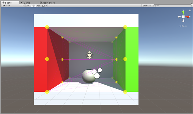 Light Probes - Probes positioning