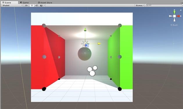 Point light - light positioning