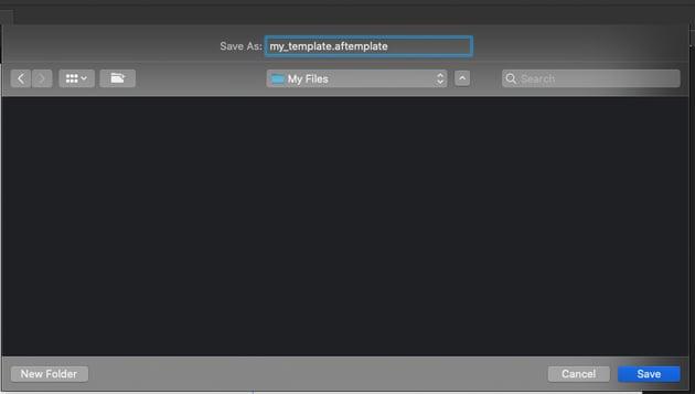 Affinity Designer Template Save