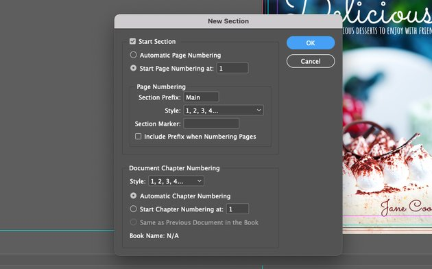 InDesign Page Numbers