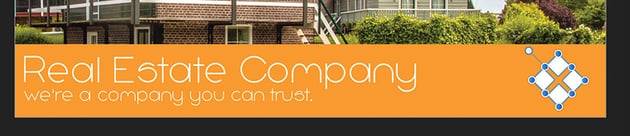 Affinity Publisher Real Estate Postcard Logo
