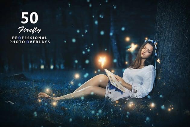 Envato Elements Firefly Photoshop Effect