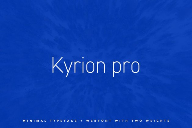 Kyrion Envato Elements Fonts
