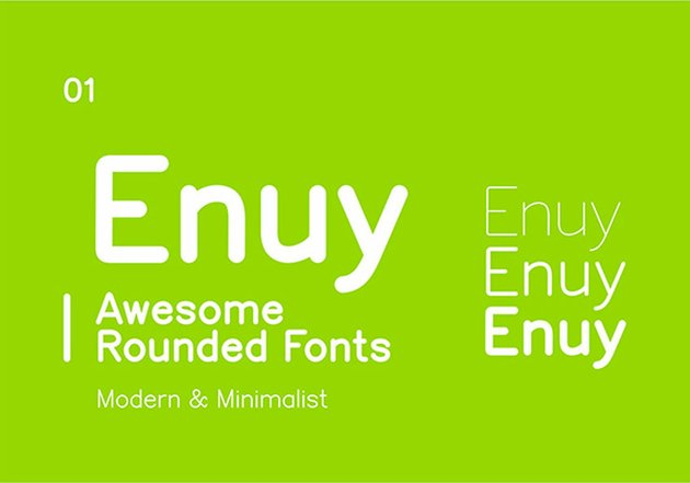 Enuy Rounded Web Font