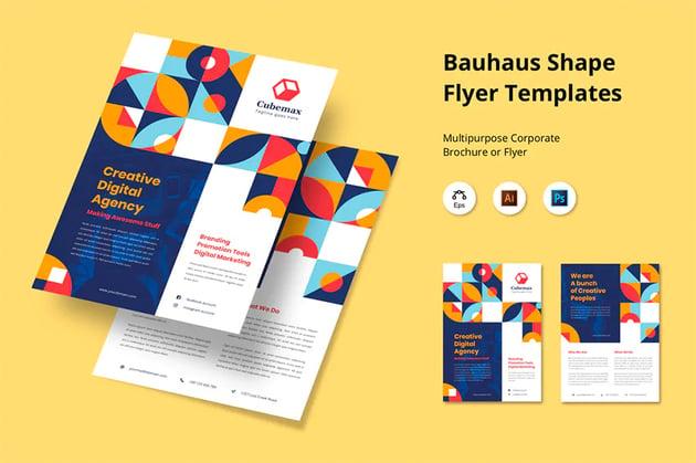 Envato Elements Bauhaus Poster Design