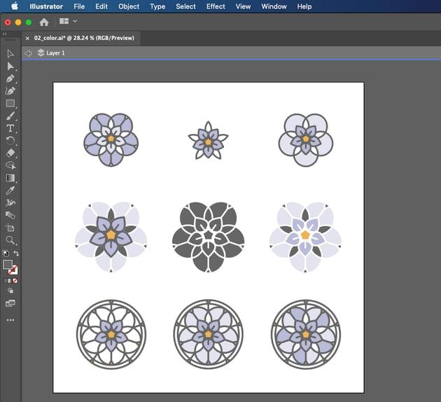 SVG Cricut Prepare Project in Illustrator