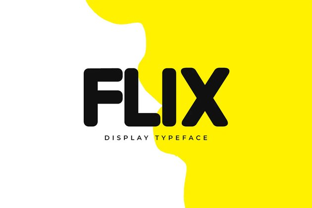 Flix Bold Fonts for Logos