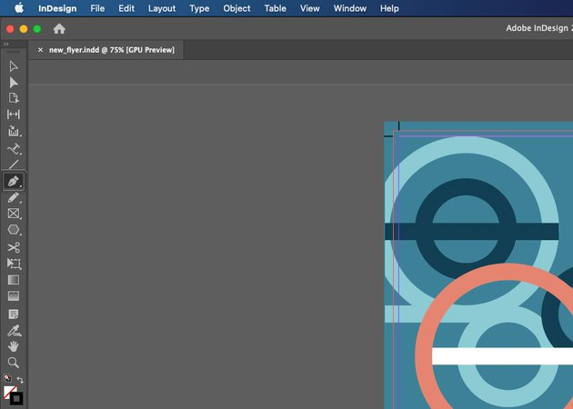 InDesign Type on a Path Select Pen Tool