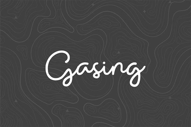 Gasing (Popular Handwriting Fonts)